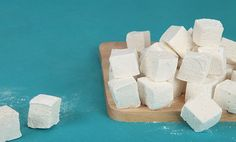 Homemade Marshmallows SO WORTH the time and effort. Store bought don't even come close to tasting like homemade. Would be fun to make even just once for your kids to roast either in your own fireplace or in your fire pit outside.