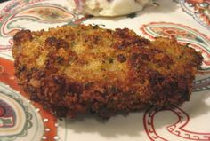Stove Top Coated Baked Pork Chops Recipe - I've used the savory herb and the cornbread stuffing mix and both were excellent!