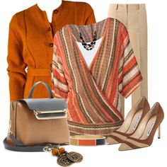 """Pumpkin Spice"" by nutgirl on Polyvore"