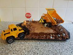 Mining cake