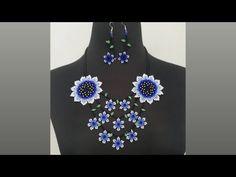 Collar en mostacilla Part.4( (Correa y broche)✨ - YouTube Youtube, Beads, Instagram, Jewelry, Women, Necklace Tutorial, Big Flowers, Small Flowers, Stud Earrings