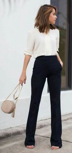 Professional Outfits For Women business casual style simple fashion cute Professional Outfits For Women. Here is Professional Outfits For Women for you. Professional Outfits For Women business casual style simple fashion cu. Fashion Mode, Work Fashion, Fall Fashion, Trendy Fashion, Fashion Black, Curvy Fashion, Fashion Trends, Style Fashion, Feminine Fashion
