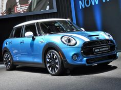 L.A. Auto Show: 2015 Mini Cooper Hardtop 4-Door adds practicality to a plucky…
