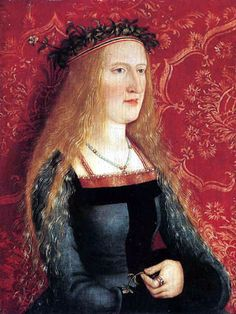 Bernhard Strigel - Painting of a patrician bride
