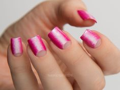 China-Glaze-House-Colour-Spring-Chalk-About-It-Near-Fuchsia-Negative-Moon-Center-Gradient