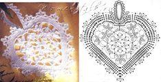 crochelinhasagulhas: Corações de crochê