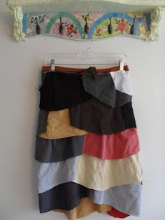 Love this idea, uses sleeves from t-shirts     Refashion Co-op