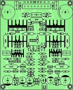 PCB Driver Power Amplifier Yiroshi