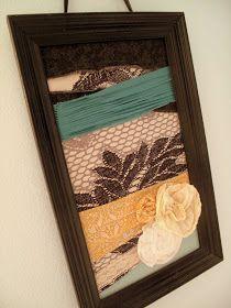 Make it, Bake it, Create it: {DIY: Home Decor} EASY BREEZY FABRIC WALL ART!