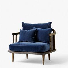 &tradition Mørkeblå Fly SC1 stol