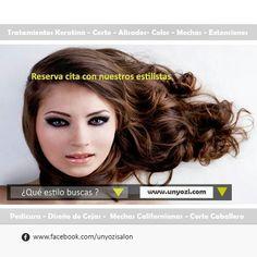 Elige tu estilo.   #cabello #peinados #peluqueriaunisex#keratinasinformol #peluqueriabcn #unyozibarcelona #keratintreatments #barberiabarcelona #brazilianblowout_unyozi