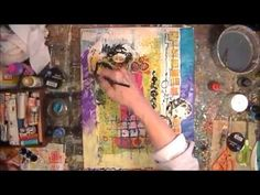 Painting paper - use your scraps