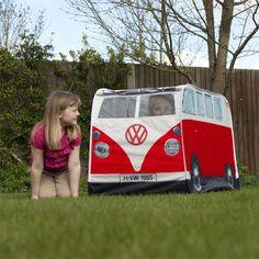 VW Camper Van Kids Play Tent