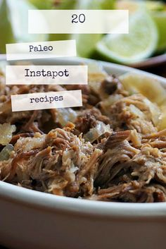 20 Paleo Instapot recipes