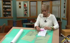 Solving the Pattern Fitting Puzzle Sewing With Nancy PBS Show hosted by Nancy Zieman. Learn how to fit a sewing pattern from the master of pattern fitting. Sewing Lessons, Sewing Hacks, Sewing Tutorials, Sewing Crafts, Sewing Projects, Sewing Tips, Sewing Ideas, Serger Sewing, Dress Tutorials