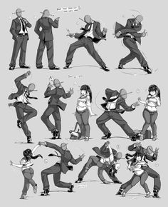 [Update] by Nsio on DeviantArt - - Nsio Pose Practice Anon Party Hard! [Update] by Nsio on DeviantArt reference Nsio Pose Practice Anon Party Hard! [Update] by Nsio Action Pose Reference, Figure Drawing Reference, Art Reference Poses, Anatomy Reference, Hand Reference, Character Design Cartoon, Character Design References, Character Art, Character Concept