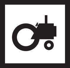 TRAH TERRE LOGO By Daphni Kontou www.daphnikontou.com  (tractor, music, logo)