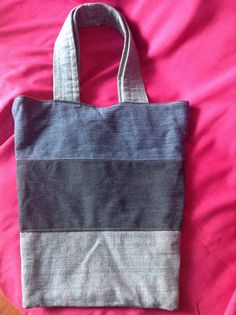 A personal favorite from my Etsy shop https://www.etsy.com/listing/516674644/denim-beach-bag