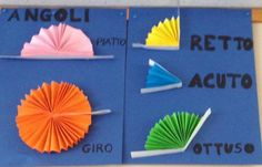 Using concertina paper to demonstrate angles. Math Classroom Decorations, Classroom Activities, Montessori Math, Homeschool Math, Geometry Activities, Math Boards, Math Groups, Math Work, Math For Kids