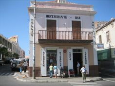 The meeting place for everyone in Mindelo - locals, local business men, ex-pats. They don't have a website.