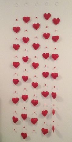 Pin by shawna reeves on wedding Simple Birthday Decorations, Valentines Day Decorations, Bridal Shower Decorations, Valentines Diy, Crafts To Sell, Diy And Crafts, Crafts For Kids, Paper Crafts, Heart Crafts