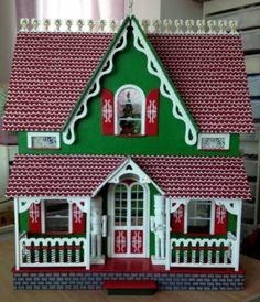 Santa House Front - My Arthur: Santa's House - Gallery - The Greenleaf Miniature Community