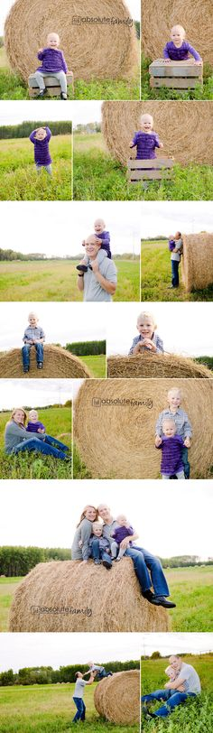 1 year old..harvest family session