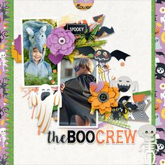 tnp_DoubleShotNo1_PD3_TRACY My Scrapbook, Digital Scrapbooking, Make It Yourself, Halloween, Gallery, Creative, Roof Rack, Spooky Halloween