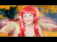 DIY Como pintar la Cara Hada *Fairy Face Painting Ideas* Carnaval Halloween St Patrick Pintura Facil - YouTube