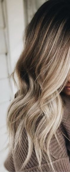 Trendy Ideas For Hair Color Light Blonde Balayage Haircolor Light Blonde Balayage, Balayage Hair, Blonde Highlights, Caramel Balayage, Blonde Dye, Color Highlights, Balayage Brunette To Blonde, Brown Balayage, Haircolor