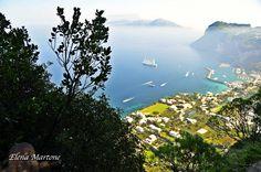 Scorcio di Capri fotografato dall'alto!