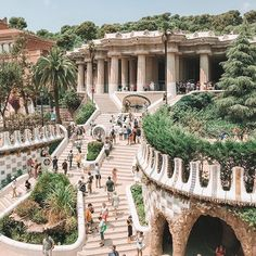 Which photo of Barcelona is your favorite, Park Güell by Casa Batllò by Park Güell by Palau de la Musica by Sagrada Familia by Casa Batllò by Barcelona Cathedral by Tag your best travel photos with via Barcelona Park Guell, Barcelona City, Barcelona Catalonia, Barcelona Cathedral, Barcelona Travel Guide, Visit Barcelona, Gaudi, Parc Guell, Holiday Pictures