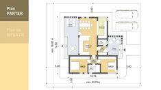 Model 83mp   Case de top Floor Plans, Modern Homes, Model, Design, Houses, Modern Houses, Contemporary Houses