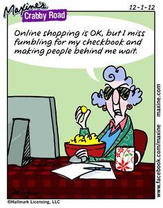 online shopping........