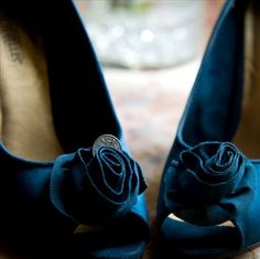 lovely blue shoes