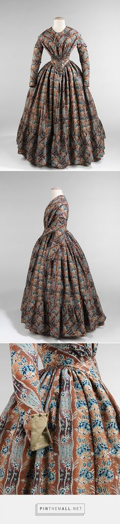 Dress ca. 1843 American | The Metropolitan Museum of Art