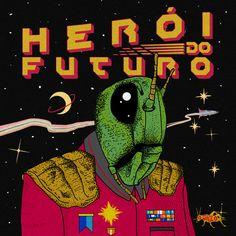 """""""Herói do Futuro"""" by O Grilo was added to my Discover Weekly playlist on Spotify"""