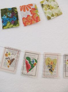 """little string of happy hearts"" - another adorable project from dottie angel"