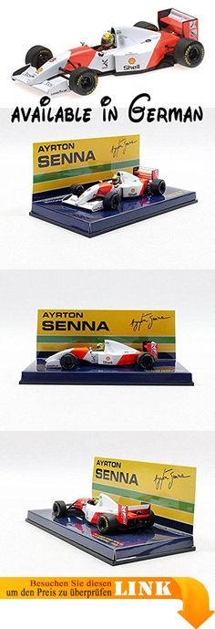 Minichamps 5409343081: 431993McLaren Ford MP4–8–Ayrton Senna. MINICHAMPS. Material: Metall/Kunststoff. Sehr detailliert. Typ: Fertig konfektioniert #Toy #TOYS_AND_GAMES