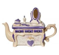 Cosmetic Table 2012 Teapot