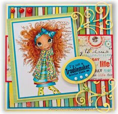 Troublemaker by Shelby68 - Cards and Paper Crafts at Splitcoaststampers