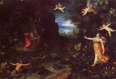 Jan Brueghel l'Ancien - Ulysse et Circé