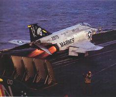 F-4 Phantom II VMFA 531. USS Coral Sea