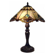 Warehouse of Tiffany NSC161072A-N061 Courtesan Table Lamp - NSC161072A-N061