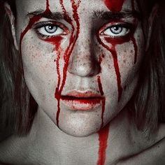 Artistic Fine Art Portrait Photography By Cristina Otero Horror Photography, Dark Photography, Portrait Photography, Blood Art, Maquillage Halloween, Red Aesthetic, Dark Art, Cyberpunk, Art Inspo