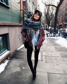 Discover recipes, home ideas, style inspiration and other ideas to try. Cold Weather Outfits, Fall Winter Outfits, Autumn Winter Fashion, Winter Looks, Look Fashion, Fashion Outfits, Casual Outfits, Cute Outfits, Winter Stil