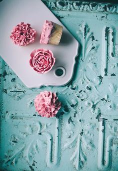 Sweet Flower Inspirated Cupcakes