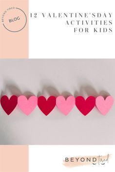 A roundup of some really cute, easy DIY Valentine's Day activities for toddlers and preschool kids to make at home or school Montessori Activities, Toddler Activities, Preschool Activities, Pallet Painting, Diy Valentine, Valentines Day Activities, Craft Box, Baby Art, Creative Activities