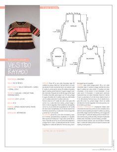 nube mayo 2011 nº 13 Diy Crafts Knitting, Knitting For Kids, Crochet For Kids, Diy Crochet, Knitting Patterns Free, Free Knitting, Baby Knitting, Tricot Baby, Baby Girl Crochet