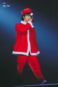 GD as Santa Claus